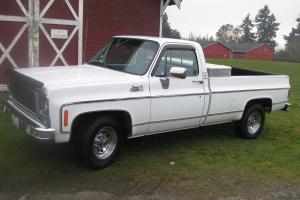 1979 GMC Sierra 3/4 ton 2WD built 454 100% rust freeNo Reserve excellent shape