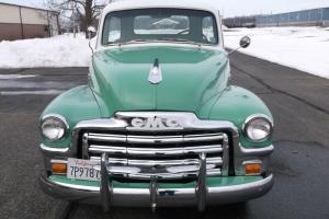 1954 Chevy powered GMC, Original 100% Rust Free California, 5 Winddow Pick Up
