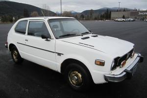 1977 Honda Civic CVCC 5-speed  37 mpg reliable commuter,  very original