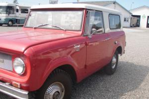 1967 International Scout a true time capsule and is  RUST FREE