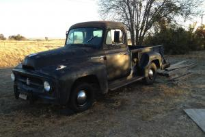 1955 International R-100 1/2 Ton Short Bed Step Side Pickup Truck Project
