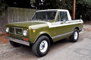 1976 International Scout II Custom Pickup One Of A Kind MUST SEE!!