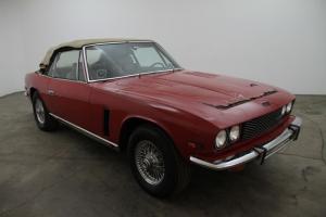 1975 Jensen Interceptor Convertible, red, automatic, Excellent original car