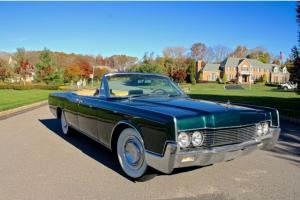 1967 Lincoln Continental Convertible Suicide Doors Cruise  We Ship World Wide
