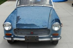 1972 MG Midget Needs Work, project car, extra parts, no reserve