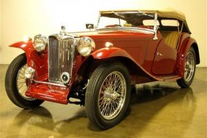 1948 MG TC Frame-Off - Multiple Concours d'Elegance Winner - 127 Miles