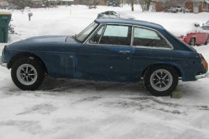 1972 MGB GT PROJECT CAR  NO RESERVE!!