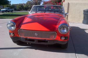 ----- 1979 MG Midget ----- clean. driving, must see MGB