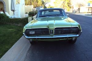 "1967 MERCURY COUGAR ""Dan Gurney"" ORIGINAL SURVIVOR-Car of The Year-MARTI REPORT"