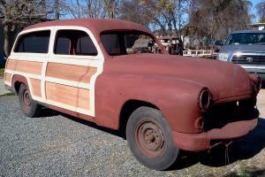 1949 Mercury Shoe Box Woody Woodie Wagon