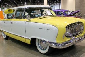 1955 Nash Statesman Custom - classic cruiser -automotive artwork - Photo