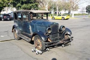 1927 Peerless Six-80 Sedan 76,152 Original Miles Project Car
