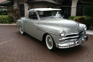 1950 Plymouth Deluxe Business Coupe 90k Orignal Miles Excellent Paint & Interior