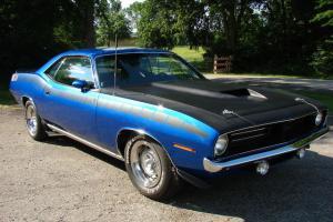 1970 Plymouth AAR CUDA (clone) 16 Miles Since Rotissori Restored~Must See CLEAN!
