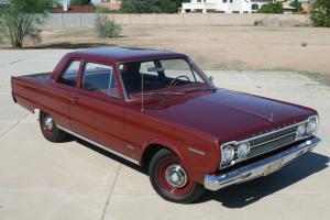 "1967 PLYMOUTH BELVEDERE I  ""HEMI"" POST CAR 4 SPEED"