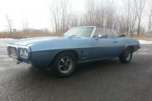 1969 Pontiac Firebird Convertible 350 ci
