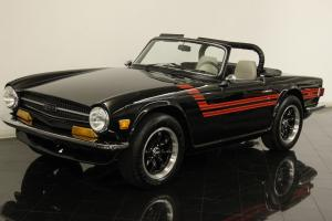 1972 Triumph TR6 Roadster Restored 2.5L 6 Cyl 4 Speed Many Performance Upgrades
