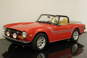 1974 Triumph TR6 Roadster Overdrive 4 Speed 2.5L Restored Performance Upgrades