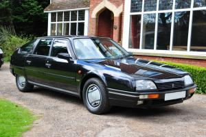 1988 CITROEN CX 25 GTi TURBO 2 BLACK WITH BLACK LEATHER AND WORKING AIRCON