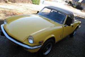 1972 TRIUMPH SPITFIRE, Beautiful British Roadster - Classic!  NO RESERVE!!!