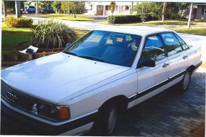 1984 AUDI 5000 S Photo