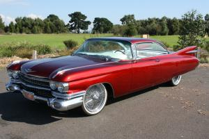 1959 Cadillac Coupe Deville Custom Show Car 100% restored excellent condition