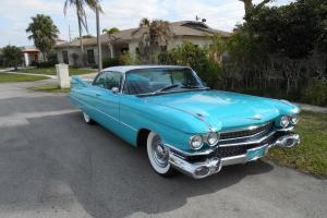1959 Cadillac Coupe De Ville Restored Classic / Antique/ Collectable