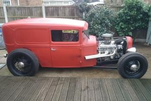 ford model a delivery hot rod rat rod
