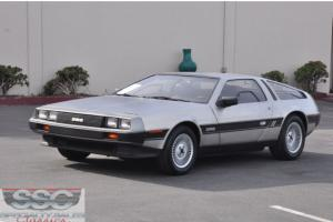 This 1983 DeLorean DMC-12 Gullwing two door sports coupe (Stock # 30887)