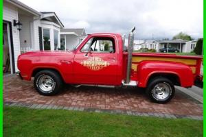 1979 Dodge Lil Red-Express 360 V8 4 Bbl Gasoline 3-Speed Automatic RWD