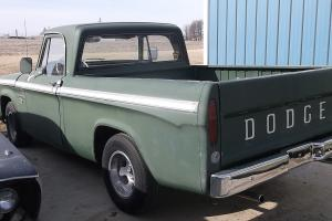 1967 DODGE 100 PICK UP TRUCK 318 2 BARRELL ENGINE ALL ORIGINAL 31000 MILES USED