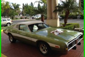1973 DODGE CHARGER CLASSIC COLLECTOR 400 Cubic Frame of RESTORATION