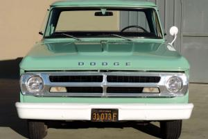 California Original,One Owner 1970 Dodge D-100 Sweptline,128k Orig Miles,Runs A+