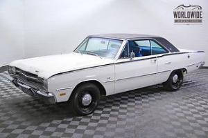 1969 DODGE DART! V8! FRAME OFF RESTORATION! FACT A/C!! STUNNING VEHICLE!