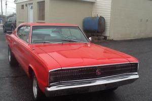 1966 DODGE CHARGER 2 Door Hardtop 383 Red VERY RARE FIND