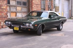 1974 Dodge Challenger rust free numbers matching unrestored Mopar without a HEMI