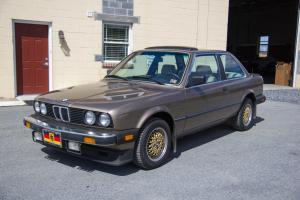 1984 BMW 318i, 1 Owner, Rust Free, Garage Kept, 5 Speed Manual, 122k
