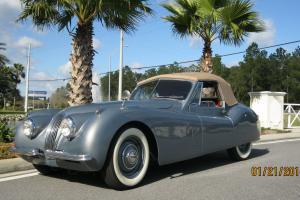 1953 Jaguar XK120 Drop Head Coupe 3.4L