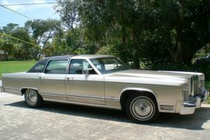 1979 Lincoln Continental Town Car  ONE OWNER  Original Special Color 4Door