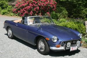 MGB 1970 Rare Split Rear Bumper Convertable----Totally Restored