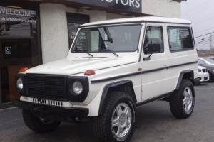 *** 1988 MERCEDES 280 GE 280GE *** 5 SPEED MANUAL *** 4X4 ***