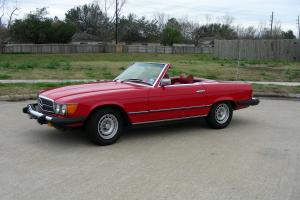 Mercedes-Benz 450SL 1977, low mileage
