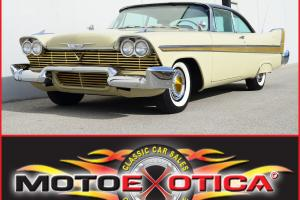 1958 PLYMOUTH FURY-GOLDEN COMMANDO-SUPER RARE-1 OF 41 EXISTING-383-CID V8-LOOK!