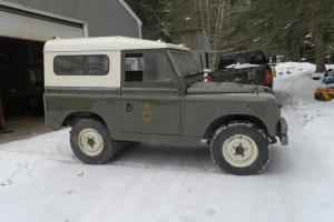 60's land rover series II A, British Military