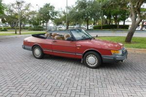 1988 SAAB CONVERTIBLE TURBO RARE CAR NICE COLORS MUST GO !!!!!