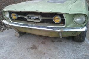 1967 Mustang 390 GTA Convertible, Barn find,  rarer than a Shelby