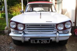TRIUMPH VITESSE MK2 2.0 CONVERTIBLE WITH OVERDRIVE