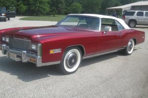 1976 Cadillac Eldorado Convertible matching Parade Boot *Low Miles*