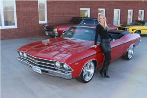 1969 Chevy Chevelle Convertible BB 4 Speed 12 Bolt PS PDB SS Clone