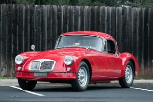 1959 MG A 108 HP, 1588 cc DOHC in-line four-cylinder engine
